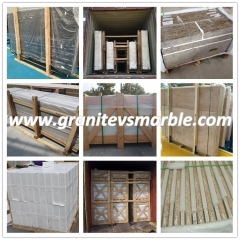 Greece Ariston White Marble Flooring Wall Tiles and Slabs