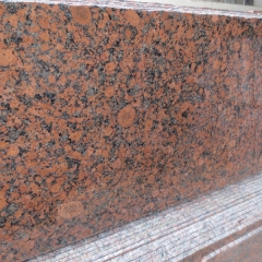 Carmen Red Granite Tiles Slabs Countertops