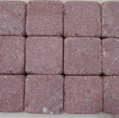 Red Porphyry Granite Tiles Slabs Paving Stone