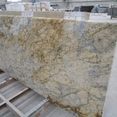 Golden Crystal Granite Tiles Slabs Countertops