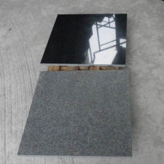 G684 Basalt Black Granite Tiles Slabs Countertops