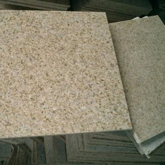 G682 Rusty Yellow Granite Tiles Slabs Countertops