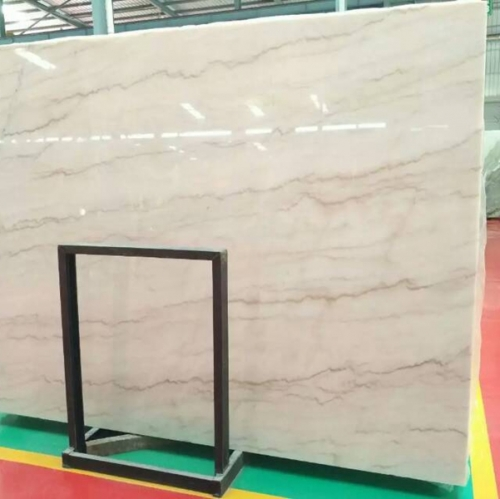 Cloudy White Marble Flooring Wall Tiles and Slabs
