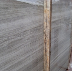 Grey Wood Grain Marble Flooring Wall Tiles and Slabs