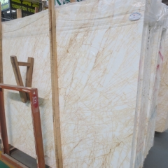 Spider Cream Marble Flooring Wall Tiles and Slabs