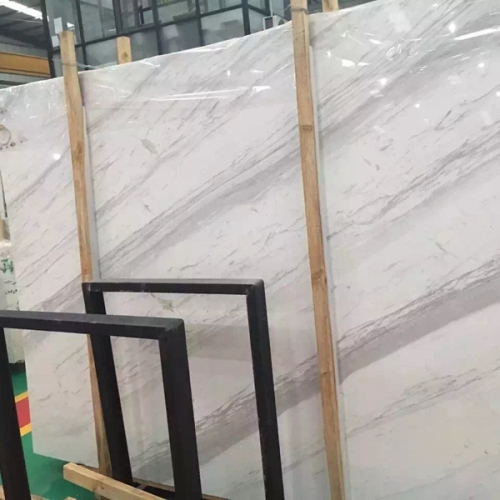 Volakas White Marble Flooring Wall Tiles and Slabs