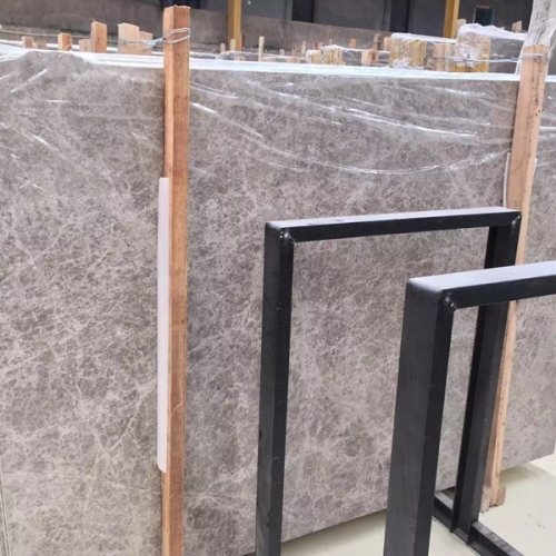 Silver Shadow Grey Marble Flooring Wall Tiles and Slabs