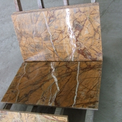 Rainforest Brown Marble Flooring Wall Tiles and Slabs