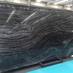 Tree Black Marble Flooring Wall Tiles and Slabs