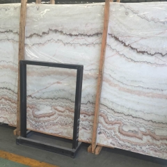 Translucent Multicolour Jade Onyx Marble Slabs Countertops Table Top Tiles