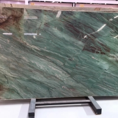 Green Botanic Quartzite Countertops Slabs