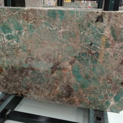 Green Amazonite Quartzite Countertops Slabs