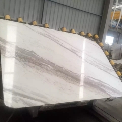 Greece Ajax White Marble Flooring Wall Tiles and Slabs