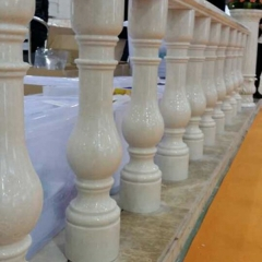 Natural Stone Marble Handrail Railings