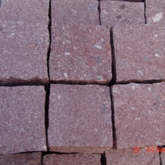 Red Porphyry Stone For Paving
