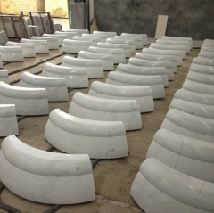 White Marble Pillars Factory