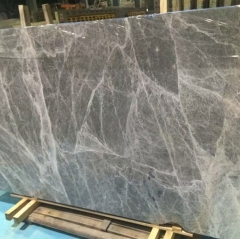 Grey Emperador Marble Slabs Tiles