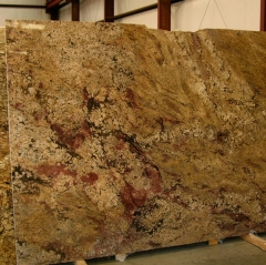 Juparana Gold Granite Tiles Slabs