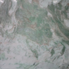 White Marble With Green Veins