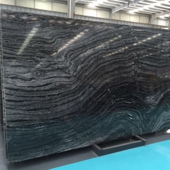 Black Wood Marble Slabs And Tiles