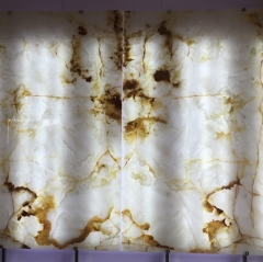 Backlit Onyx Sheet Slabs Countertops